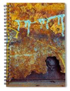 Rust Colors Spiral Notebook