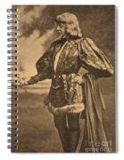 Sarah Bernhardt, French Actress Spiral Notebook