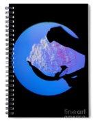Schlieren Image Of A Balloon Popping Spiral Notebook