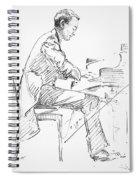 Sergei Rachmaninoff Spiral Notebook