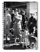 Silent Film Still: Sports Spiral Notebook