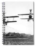 Silent Film Still: Stunts Spiral Notebook