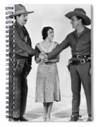 Silent Film Still: Western Spiral Notebook