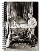 Silent Still: Bedroom Spiral Notebook