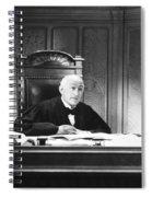 Silent Still: Courtroom Spiral Notebook