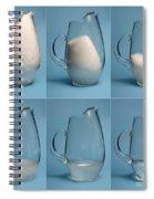 Snow Melting Spiral Notebook