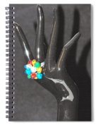The Black Hand Spiral Notebook