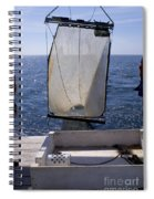 Trawling For Marine Life Spiral Notebook