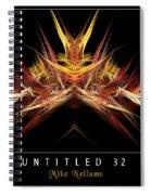 Untitled 32 Spiral Notebook