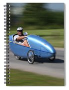 Velomobile Spiral Notebook