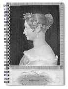 Victoria Of England Spiral Notebook