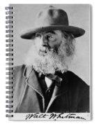 Walt Whitman, American Poet Spiral Notebook