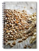 Wheat Ears And Grain Spiral Notebook