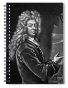 William Congreve Spiral Notebook