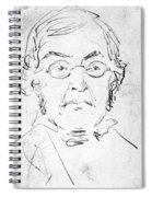 William M. Thackeray Spiral Notebook