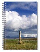 Wooden Post Spiral Notebook