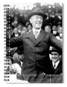 Woodrow Wilson (1856-1924) Spiral Notebook