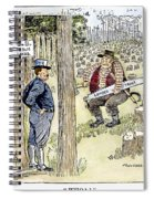 Theodore Roosevelt Spiral Notebook