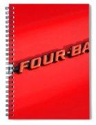 340 Four Barrel Spiral Notebook