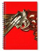 357 Magnum - Painterly - Red Spiral Notebook