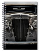 '36 Ford Convertible Coupe Spiral Notebook