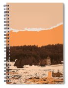 Norway  Landscape Spiral Notebook