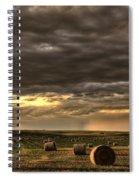Storm Clouds Saskatchewan Spiral Notebook