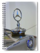 39 Mercedes-benz Emblem Spiral Notebook