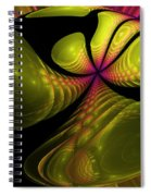 3d Effect Spiral Notebook