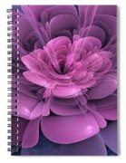 3d Flower Spiral Notebook
