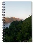 Along Big Sur Spiral Notebook