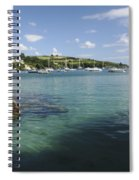 Bay Beside Glandore Village In West Spiral Notebook