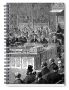 Benjamin Disraeli (1804-1881) Spiral Notebook