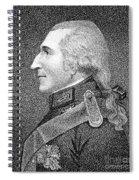 Benjamin Thompson Spiral Notebook