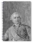 Charles De Vergennes Spiral Notebook