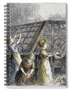 Child Labor, 1873 Spiral Notebook