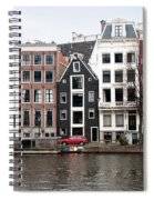 City Scenes From Amsterdam Spiral Notebook