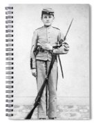 Civil War Soldier Spiral Notebook