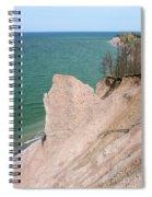 Coastal Erosion Spiral Notebook