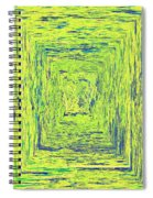Coloristic Abstracts From Varikallio At Hossa Spiral Notebook