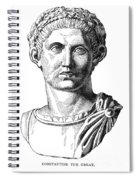 Constantine I (d. 337) Spiral Notebook