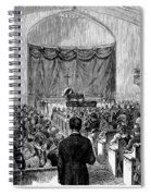 Cornelius Vanderbilt Spiral Notebook