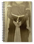 Crucifix Spiral Notebook