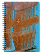 Cyprus Idol Of Pomos Spiral Notebook