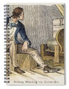 Eli Whitney (1765-1825) Spiral Notebook
