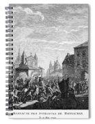 French Revolution, 1790 Spiral Notebook