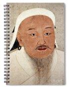 Genghis Khan (1162-1227) Spiral Notebook