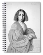 George Sand (1804-1876) Spiral Notebook