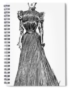 Gibson Girl, 1899 Spiral Notebook