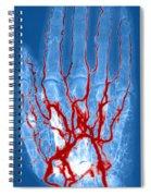 Hand Arteriogram Spiral Notebook